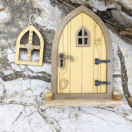 Fairy Tree Door and Window Set5