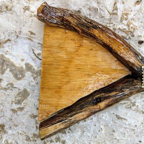 Wide Oak tree fairy door imrl 6