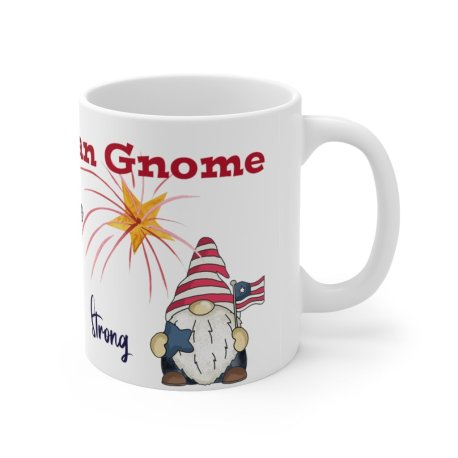 American Gnome Mug from Sprouted Dreams
