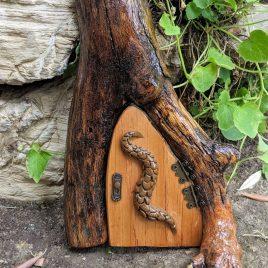 Fairy Garden Dragon Door