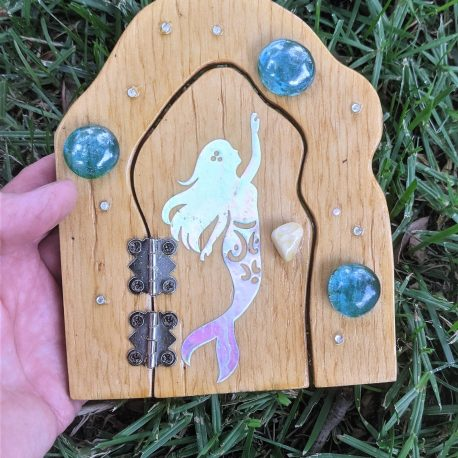 Mermaid Garden Door3