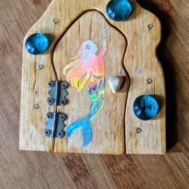 Mermaid Garden Door