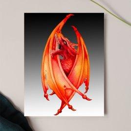Fire Dragon Card