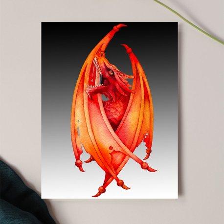 Fire Dragon mock 72