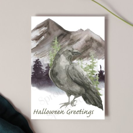 Raven Card mock up