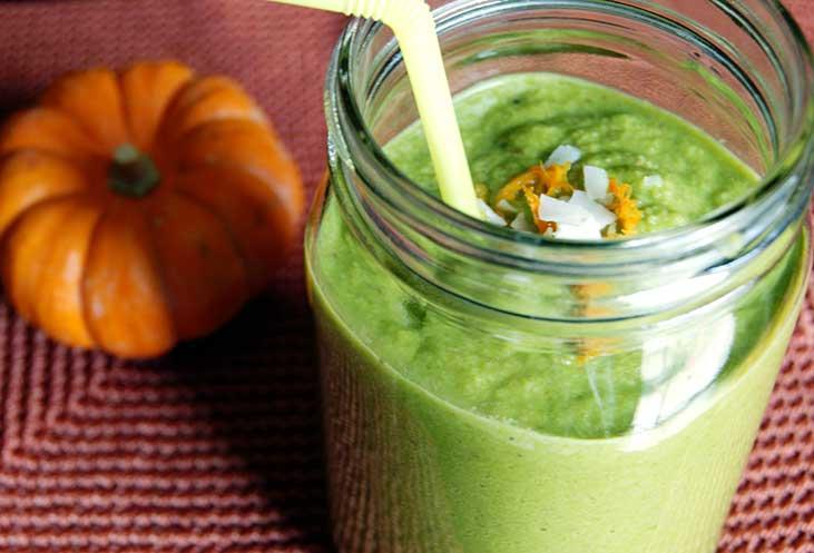Green Pumpkin Smoothie