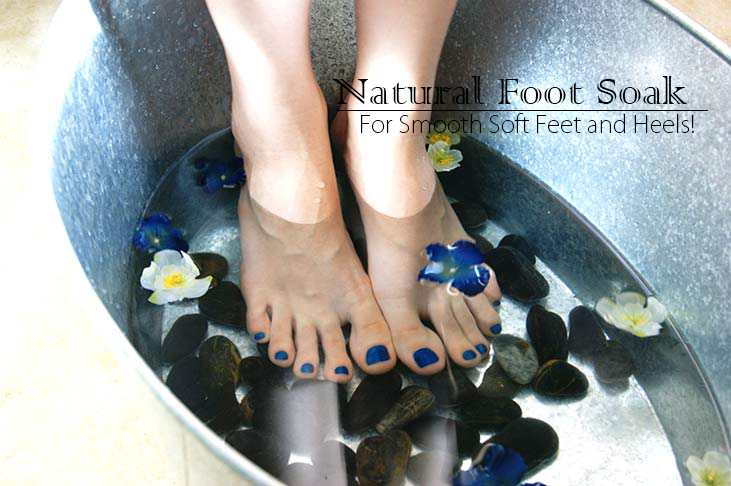 Natural Foot Soak for Soft Feet