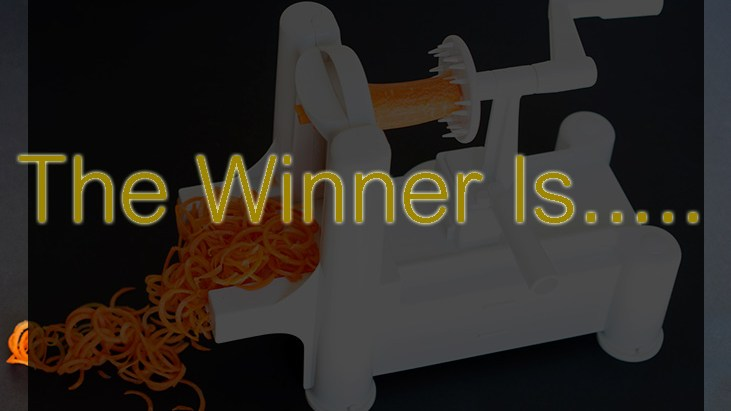 Giveaway !- Vegetable Spiralizer