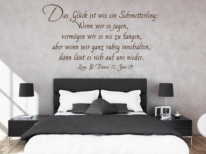 Spruche Zur Hochzeit Als Romantische Wanddekoration