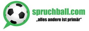 Das Logo von Spruchball.com