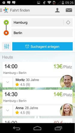 Die neue BlaBla-App ist endlich da! Finde sofort die passende Mitfahrgelegenheit auf Europas größter Mitfahrzentrale.