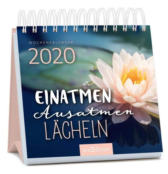 Wochenkalender Einatmen. Ausatmen. Lächeln. 2020