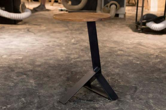 Nighthawk end table custom furniture made in hong kong