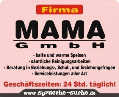 Mama Gmbh Spruche Suche