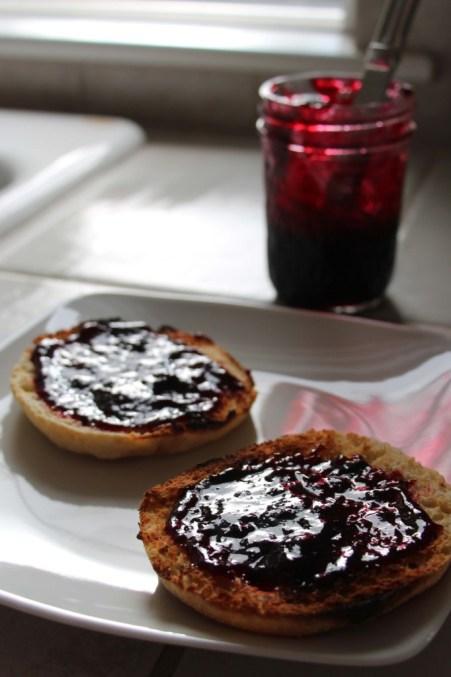 Spiced Blackberry Jam