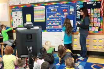 Robot Attends Class