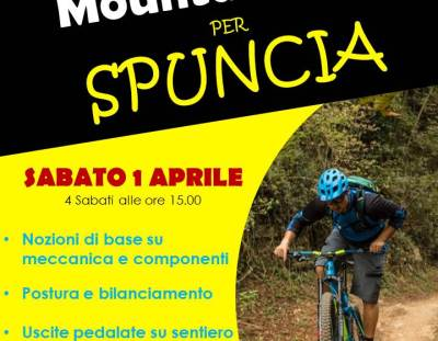 Corso Mountainbike per Spuncia