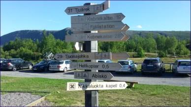 Wir starten in Nikkaloukta