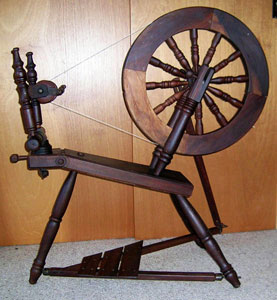 Guy Wage spinning wheel