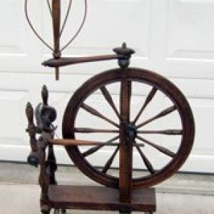 """Wheel marked """"J. FARNHAM Near Owego"""""""