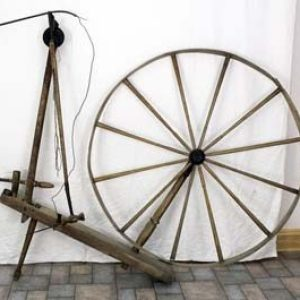 "Pendulum wheel marked ""H. ROW MAKER KEMPTVILLE"""