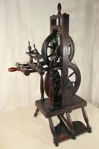 """Wheel marked """"J WEYGANDT 1839"""""""