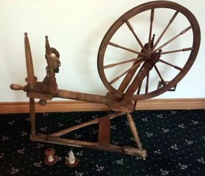 Sylvia's turned-table wheel
