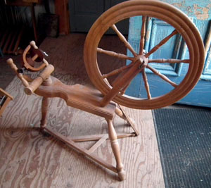 Decorator - non-functional spinning wheel