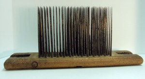 """Early 19th century English hackle marked """"Ridsdale Porter Darlington."""""""
