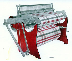 Deen Advance Automatic Fly Shuttle loom.