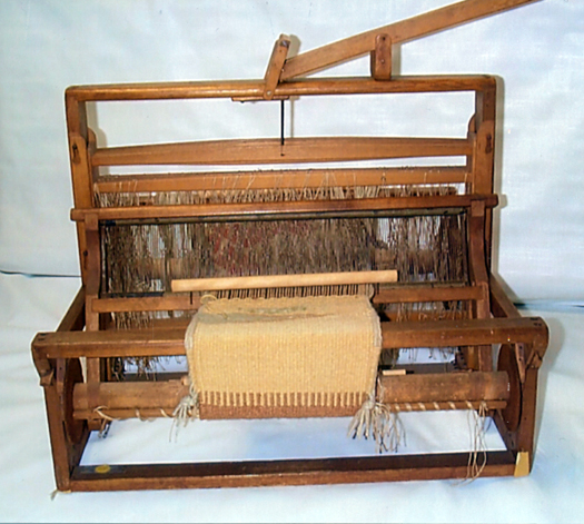 (U.S.) New Deal / Depression era table loom used by the Civilian Conservation Corps.