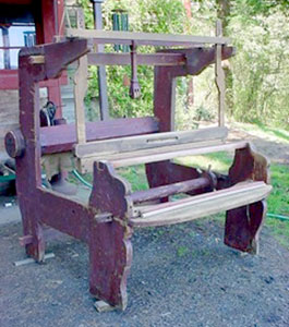 Thomas the tailor's loom.