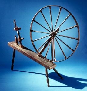 "Great wheel marked ""W. FITZ""."