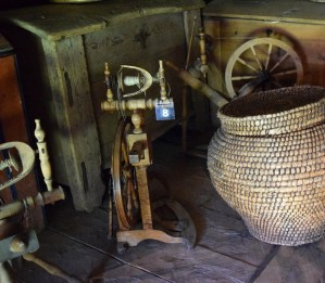 "A püstvokk (which means ""upright spinning wheel"" in Estonian) in the Open Air Museum in Tallin."