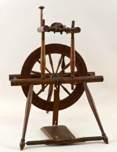 "Wheel marked ""I. IVES""."