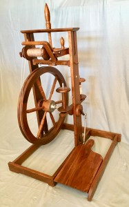Ernest Mason Swiss-style wheel in walnut