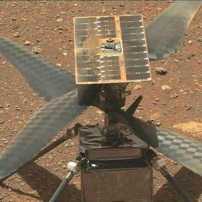 SolAero Technologies' Ingenuity on Mars