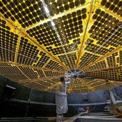 NASA's Lucy stretches its wings in successful solar panel deployment test