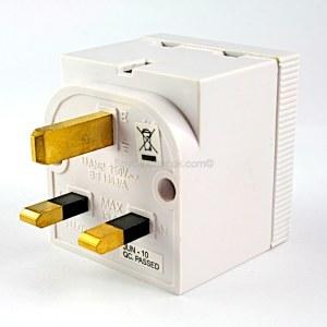 GSM Bug-13AMP UK Double Adaptor B