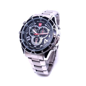 HD Infra-Red Night Vision Watch Camera DVR C