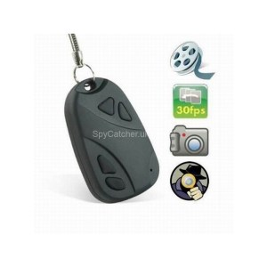 Car Alarm Key Fob Hidden Camera-6658