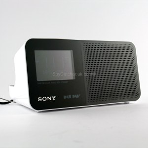 Sony DAB Radio With 3G Spy Camera and Microphone