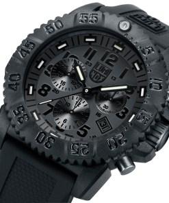 Luminox Black Dial and Face, 3081BO Navy Seal Dive Chronograph-5326