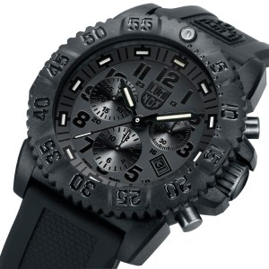 Luminox Black Dial and Face, 3081BO Navy Seal Dive Chronograph-5326