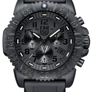 Luminox Black Dial and Face, 3081BO Navy Seal Dive Chronograph-5327