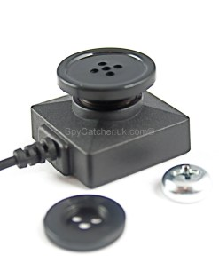 Button-Screw Head Spy Camera with Seperate Digital Video Recorder B