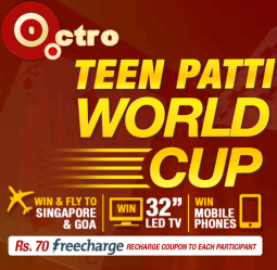 Teen Patti Octro Freecharge