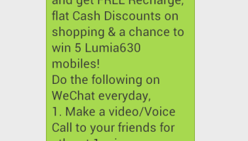 Invite friends to wechat and get 20 Rs free recharge | SpyCoupon