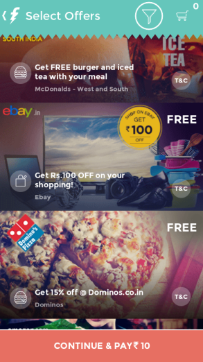 eBay 100 Off on 110 Rs coupon free