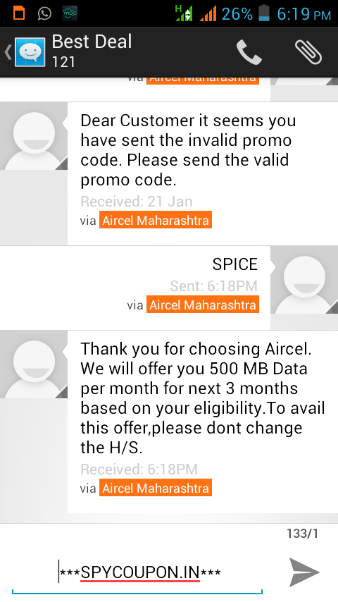 By Photo Congress || Aircel Free Internet Browser For Android
